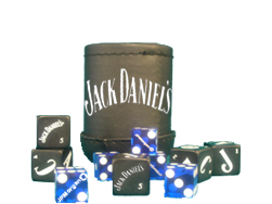 Corporate Custom Dice Cup with Custom Dice