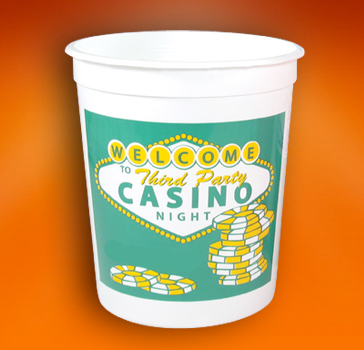 Custom Printed Slot Machine Cups