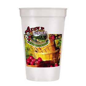 Custom Stadium Cups with Your Full Color Design