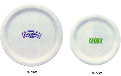 Imprintable Paper Plates