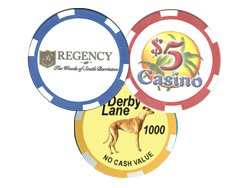 Custom Printed Poker Chips