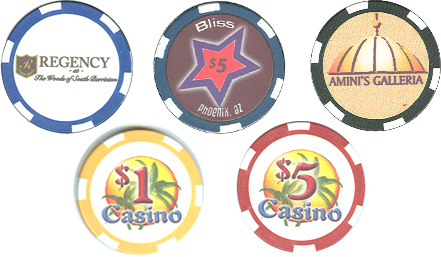 Custom Imprinted Poker Chips
