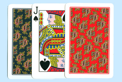Dal Negro Cashmere Bridge Plastic Playing Cards