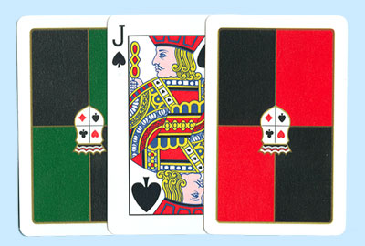 Dal Negro San Remo Bridge Plastic Playing Cards
