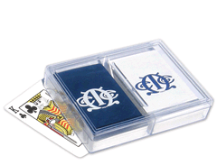 Double Deck Plastic Bridge Card Box