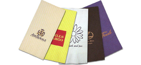 Custom-Imprinted Dinner Napkins with Any Design You Choose