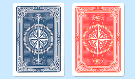 Gemaco Compass Plastic Playing Cards