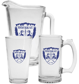 Glass Pitcher Sets with Pints or Mugs