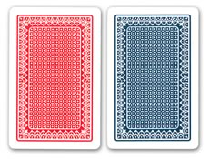 Kem Alpha Playing Cards (Red/Blue)
