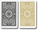 Kem Playing Cards Arrow Gold Black