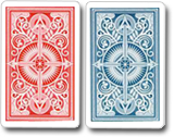 Kem Playing Cards Arrow Red Blue