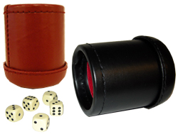 Leatherette Dice Cup