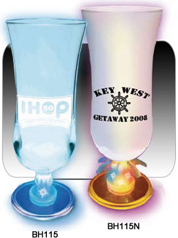 Light Up Hurricane Glasses with Any Design You Choose