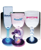 Light Up Martini, Margarita, Wine and Champagne Glasses
