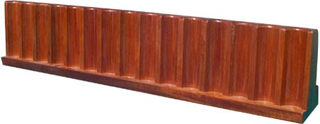 Upright Chip Racks (Mahogany)