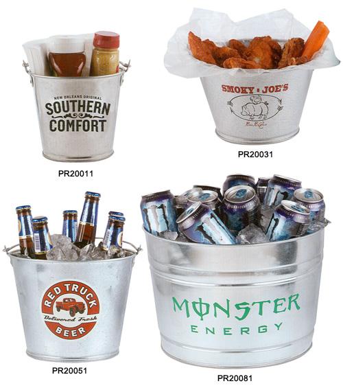 Custom Metal Buckets Galvanized Metal Buckets For Beer