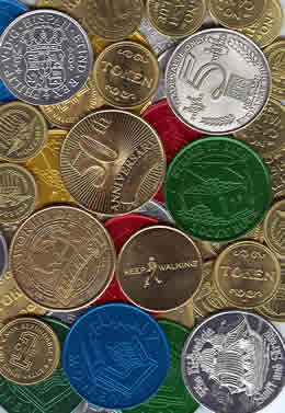 Metal Coins and Tokens: Commemorative Coins and Tokens for your ...