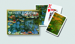 Monet Lilies Playing Cards