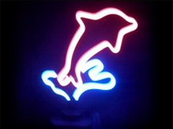 Dolphin Neon Sign