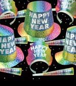 New Year's Eve Party Kits and Decorations