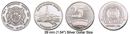 Nickel Silver Coins and Tokens