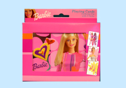 Barbie Playing Cards in Collectible Tins