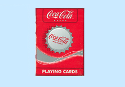 Coca Cola Brand Playing Cards