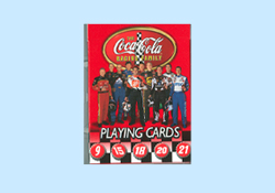 Coca Cola Racing Playing Cards