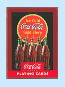 Coca Cola Vintage Playing Cards
