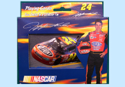 Jeff Gordon Playing Cards in Collectible Tins