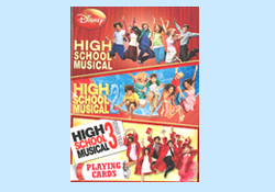 High School Musical Trilogy Playing Cards