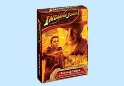Indiana Jones Crystal Skull Playing Cards