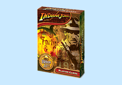 Indiana Jones Fortune and Glory Playing Cards