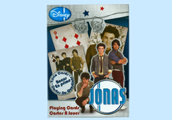 The Jonas Brothers Playing Cards