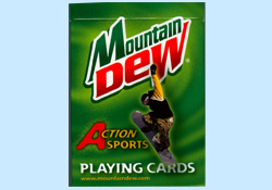 Mountain Dew Playing Cards
