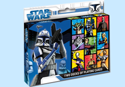 Star Wars Clone Wars and Adventure Decks Set