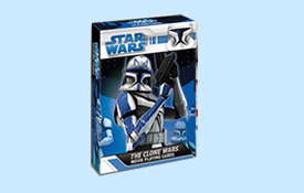 Star Wars Clone Wars Characters Playing Cards