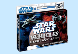 Star Wars Heros and Villians Playing Cards