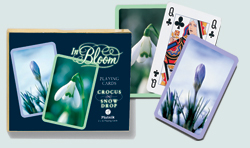 In Bloom Crocus & Snowdrop Playing Cards