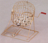 Bingo Cages and Sets