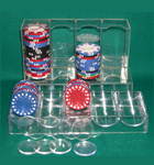 Poker Chip Box, Racks, and Spacers
