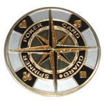 Poker Guard Compass Spinner