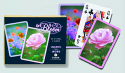 Poppy and Rose Playing Cards
