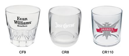 Custom Imprinted Rock Glasses
