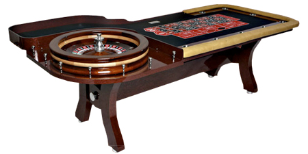 Stationary Deluxe Roulette Table