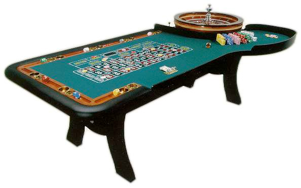 Real Roulette Table