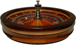 Wood Roulette Wheels