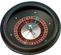 ABS Plastic Roulette Wheel