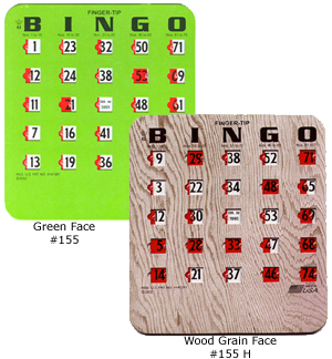Bingo Fingertip Slide Cards