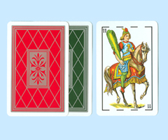 Paper Spanish Playing Cards
